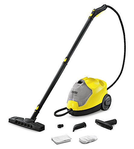 KARCHER SC.2500C steam cleaner with attachments (Black & yellow