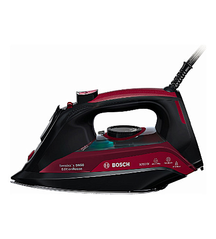 BOSCH Steam iron 3050w (Red