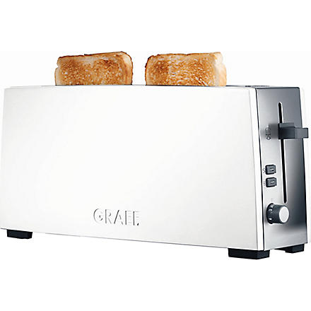 GRAEF White two-slice toaster (White
