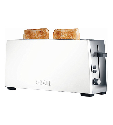 EPE White two-slice toaster (White