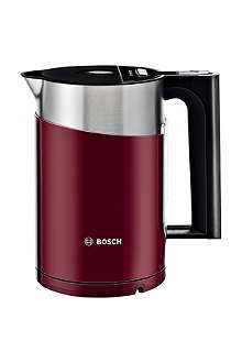 BOSCH Styline sensor kettle in gloss red