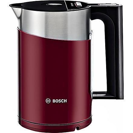 BOSCH Styline sensor kettle in gloss red (Red