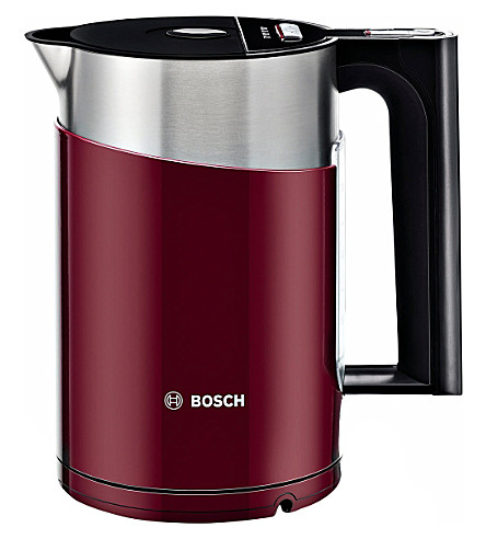BOSCH Styline sensor kettle in gloss red (Red