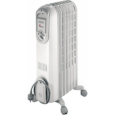 DELONGHI Vento oil-filled radiator (White