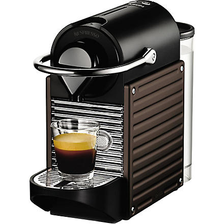 NESPRESSO Pixie coffee machine (Brown