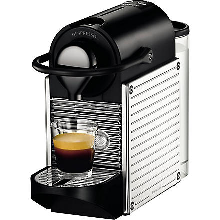 NESPRESSO Pixie coffee machine (Chrome