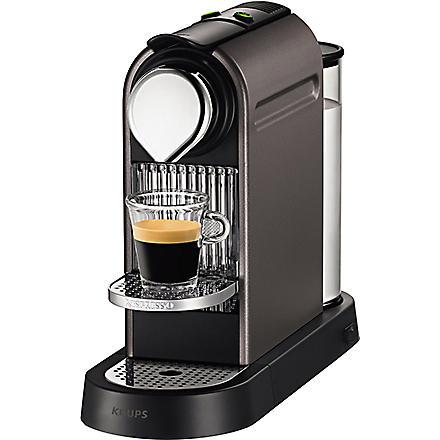 NESPRESSO CitiZ coffee machine (Titanium