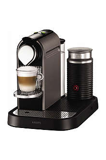 KRUPS CitiZ coffee machine and Aeroccino milk frother