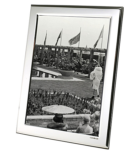 ARTHUR PRICE Plain Sterling silver photo frame 7