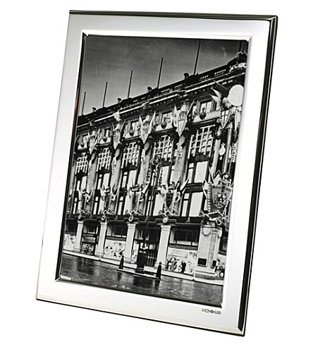 ARTHUR PRICE Plain Sterling silver photo frame 10