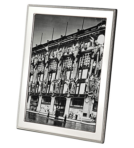 ARTHUR PRICE Bead sterling silver photo frame 7