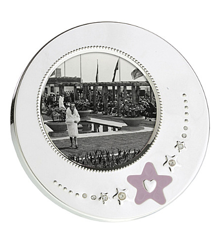 ARTHUR PRICE Children's round photo frame for girls