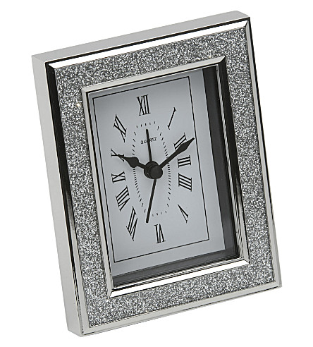 ARTHUR PRICE Diamante-framed clock