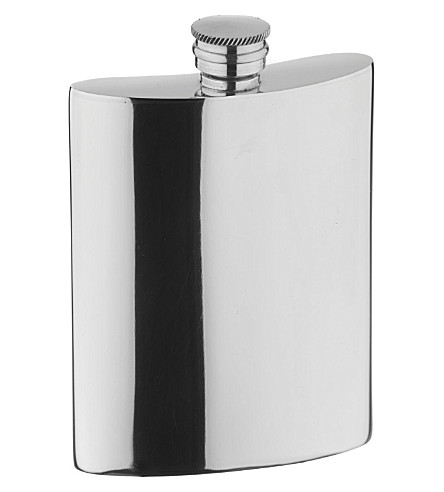 ARTHUR PRICE Pewter hip flask 0.17L