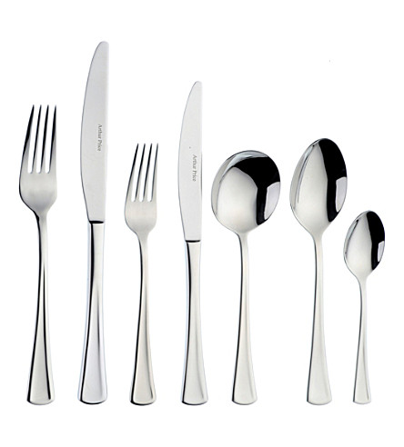 ARTHUR PRICE Apollo 44-piece stainless steel cutlery set for 6