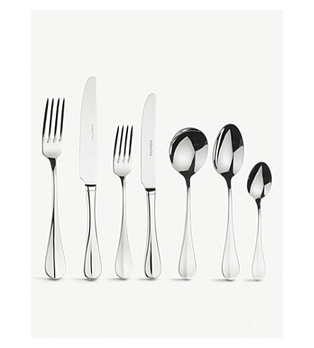 ARTHUR PRICE Baguette 44-piece canteen cutlery set for 6