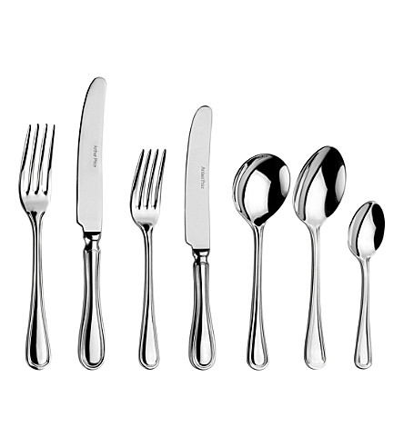 ARTHUR PRICE Britannia 44-piece stainless steel cutlery set for 6