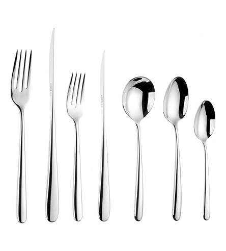 ARTHUR PRICE Echo 44-piece stainless steel cutlery set for 6