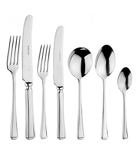 ARTHUR PRICE Harley 7-piece stainless steel place set