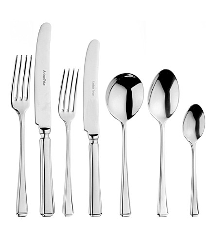 ARTHUR PRICE Harley 44-piece canteen cutlery set for 6