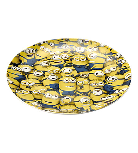ARTHUR PRICE Sea of minions childs plate