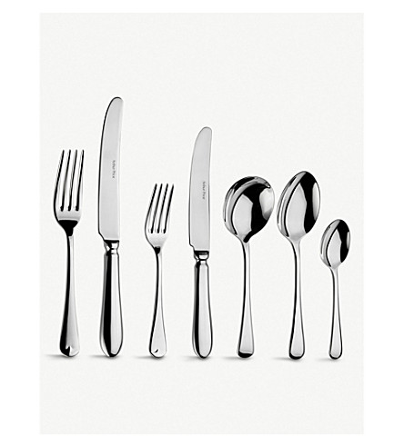ARTHUR PRICE Old english 44-piece canteen cutlery set for 6