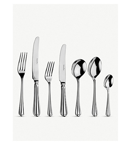 ARTHUR PRICE Royal pearl 58-piece canteen cutlery set for 8