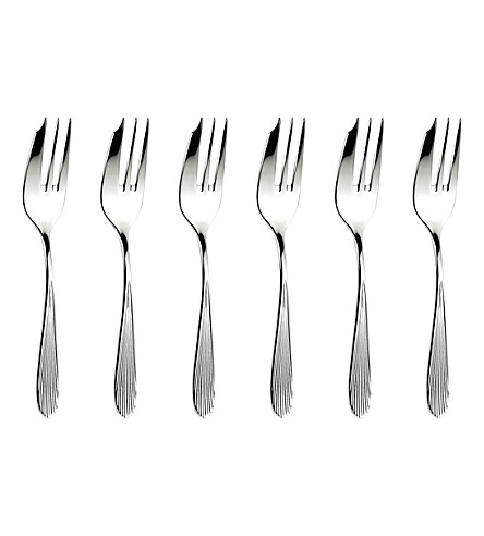 ARTHUR PRICE Sophie Conran Dune stainless steel pastry forks