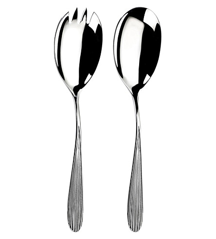 ARTHUR PRICE Sophie Conran Dune stainless steel salad servers