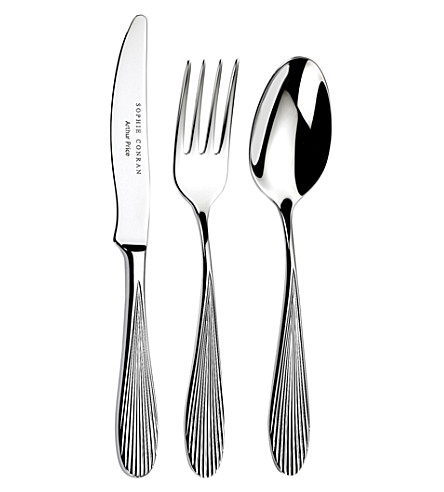 ARTHUR PRICE Sophie conran dune stainless steel 7 piece cutlery set
