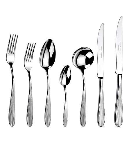 ARTHUR PRICE Sophie Conran Dune stainless steel 44 piece cutlery set