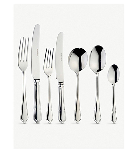 ARTHUR PRICE Dubarry stainless steel eight people 58 piece cutlery canteen