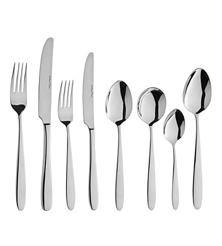 ARTHUR PRICE 76-piece stainless steel Vision cutlery set for eight