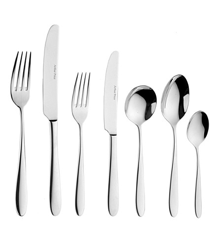 ARTHUR PRICE Willow 7-piece stainless steel place set