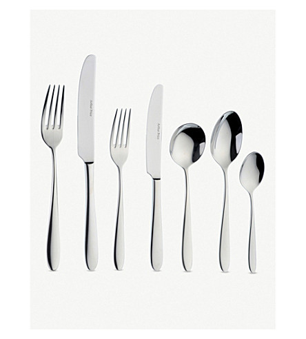 ARTHUR PRICE Willow stainless steel 58 piece cutlery set