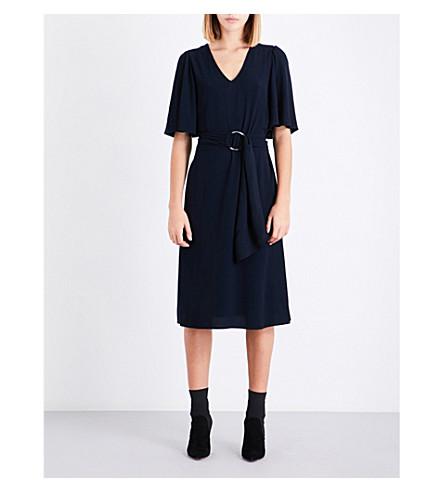 CLAUDIE PIERLOT 自系式袖绉裙 (船用)