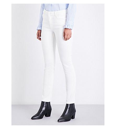 CLAUDIE PIERLOT Skinny high-rise jeans (Blanc
