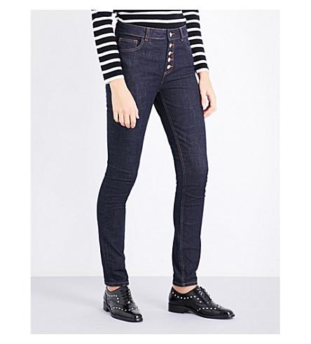 CLAUDIE PIERLOT Skinny high-rise jeans (Jean