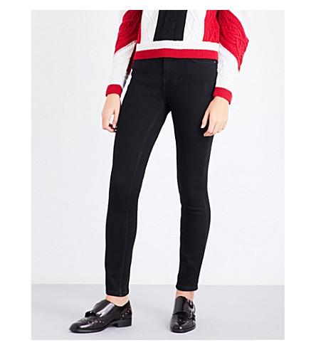 CLAUDIE PIERLOT Skinny high-rise jeans (Noir