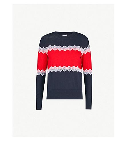 CLAUDIE PIERLOT Magnia wool jumper (Navy