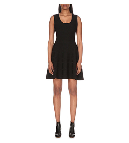 CLAUDIE PIERLOT Maria knitted dress (Noir
