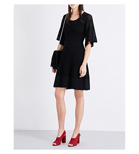 CLAUDIE PIERLOT Milenia stretch-knit dress (Noir
