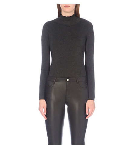 CLAUDIE PIERLOT Monbody knitted body (Noir