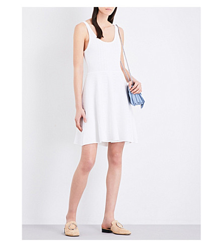 CLAUDIE PIERLOT Monalisa knitted dress (Ecru