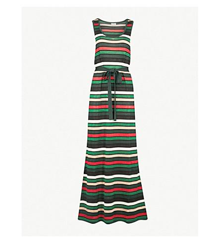 CLAUDIE PIERLOT 条纹金属针织连衣裙 (多色
