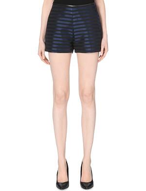 CLAUDIE PIERLOT Elias bis metallic shorts