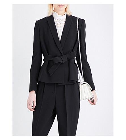 CLAUDIE PIERLOT Valerie woven jacket (Noir