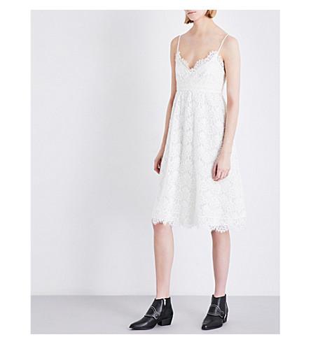 CLAUDIE PIERLOT Rieuse lace dress (Ecru