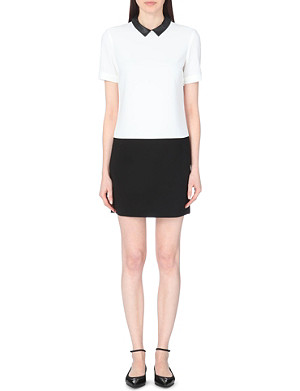 CLAUDIE PIERLOT Raffinee crepe dress