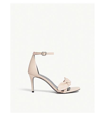 CLAUDIE PIERLOT Alea heeled sandals (Cream